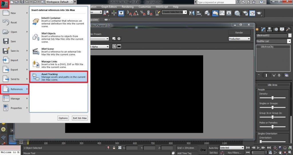 How to Prepare your Project for Rendering - screen 1