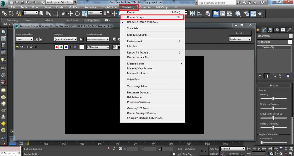 How to Prepare your Project for Rendering - screen 4