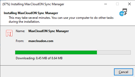 How to create your VPN using MaxCloudON Sync Manager 5